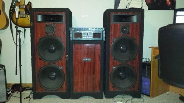 speakers studio pro dj indiana bloomington americanlisted inch