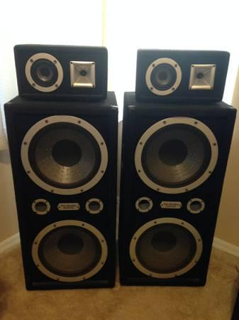Pro Studio Industrial Sound Pressure System Speakers For
