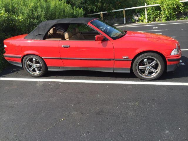 Proce Drop Bmw E36 325ic Red Convertible Clean For Sale In Emmons