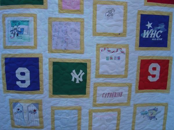 Professional Quilt Finishing Custom Made Quilts T Shirt Quilts In