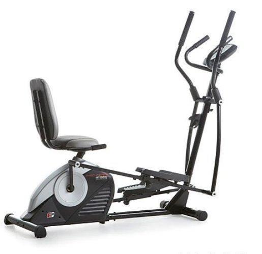 ProForm® Hybrid Trainer Pro Elliptical & Recumbent Bike