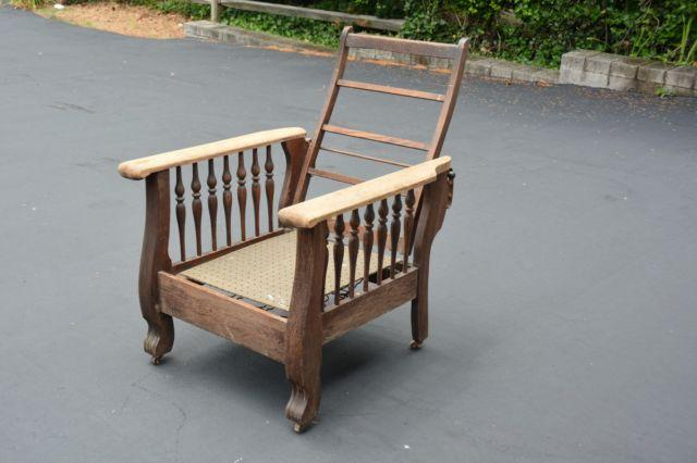 PROJECT ANTIQUE OAK RECLINING MORRIS CHAIR & PROJECT ANTIQUE OAK RECLINING MORRIS CHAIR for Sale in Langhorne ...
