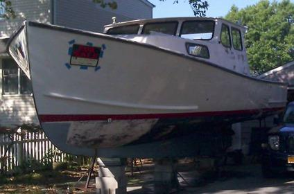 Project Boat 1988 Young Brothers Down East For Sale In