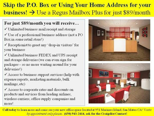 PROMO - $65 Business Identity, BETTER THAN A P.O. BOX