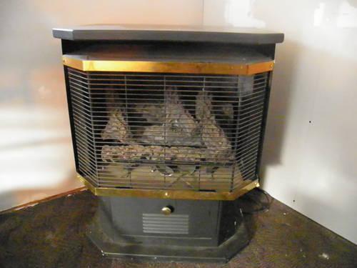 propane heater pedestal stove - $250 (45144)
