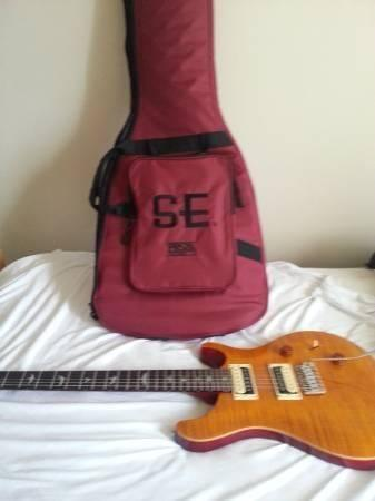 PRS 24 SE Custom Vintage Yelllow Like New Condtion