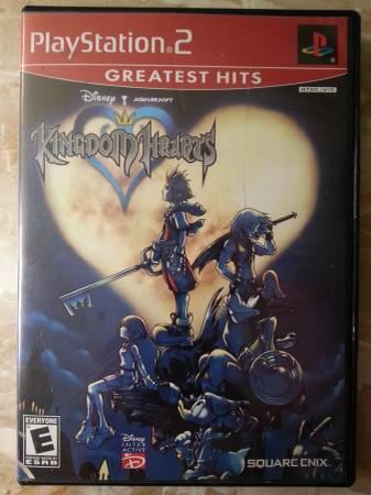 PS2 games - Kingdom Hearts, DMC, X-Men, Justice League