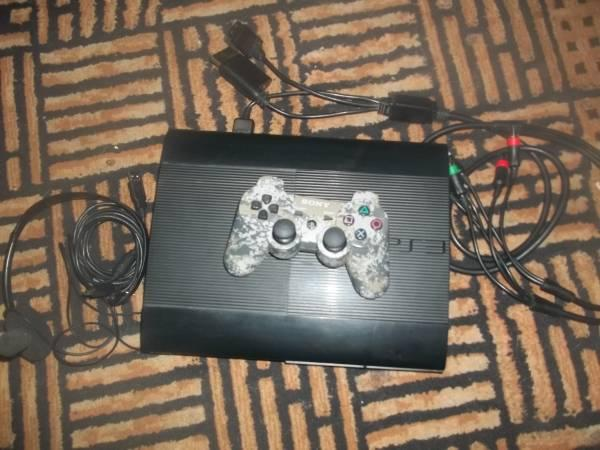PS3 with Camo Controler - $115