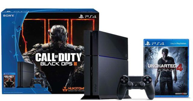 Ps4 500gb Call Of Duty Black Ops Iii Bundle Uncharted 4 A
