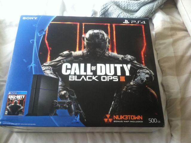 Ps4 Playstation 4 Blacks Ops Iii Bundle New For Sale In Raleigh