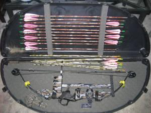 PSE Fireflight Express Bow, arrows, case WOW! - $250