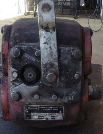 PTO for a SM465 Chevy 4 Speed transmission, powr take off - $250