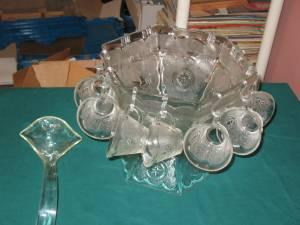 Punch Bowl set - $25