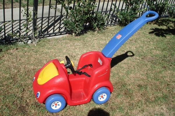 push buggy  push around buggy ride on car by step 2 - $29