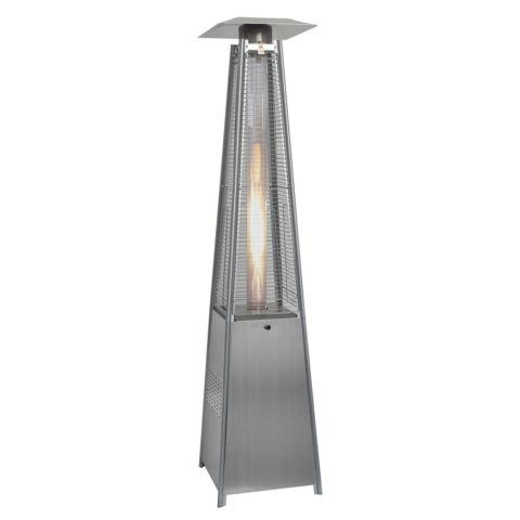 Pyramid Standing Outdoor Patio Heater Deck Natural Gas