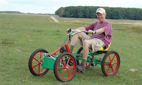 Quadricycle Four Wheel Bicycle tumtum & googly