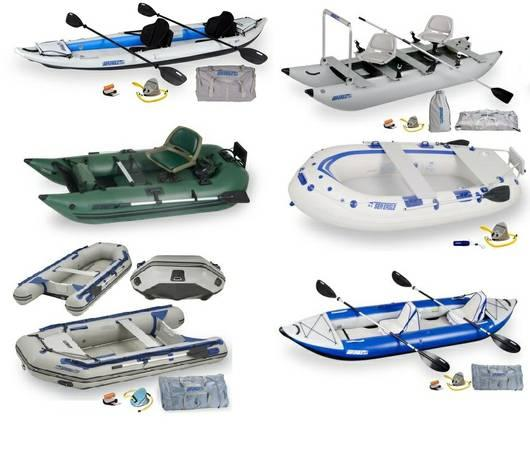 Quality Inflatable Boats and Kayaks from $217.00 - $217