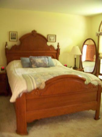Queen bedroom set lexington victorian midland for sale - Lexington victorian bedroom furniture ...