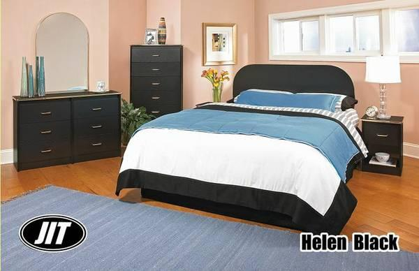Queen bedroom set with free orthopedic mattress set and for Furniture and mattress gallery passaic nj