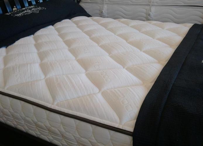Queen Latex Floor Model Mattress Medford Mattress For Sale In