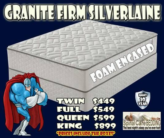 Queen mattress and box sets new in plastic with warranty