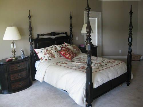 Queen Size Four Poster Bed Almost New For Sale In Longview Texas Classified