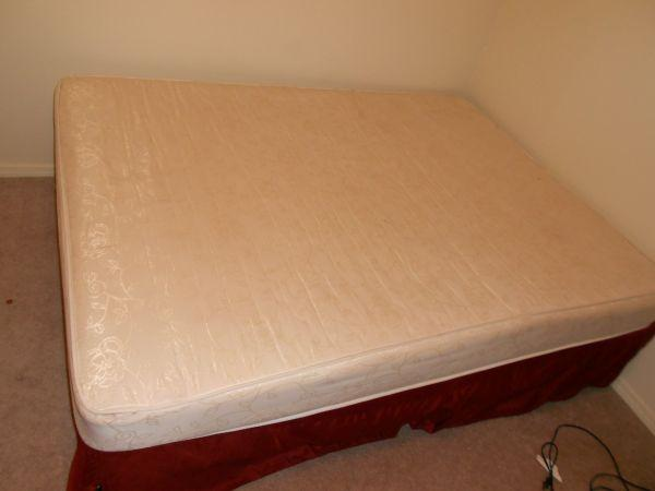 Queen Size Mattress Box Spring And Bed Frame West