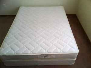 queen size mattress and box spring. Sale: Queen Size Mattress With Matching Box Spring - And B