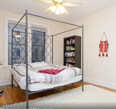 Queen West Elm Ellipse Metal Canopy Bed Mattress For Sale In
