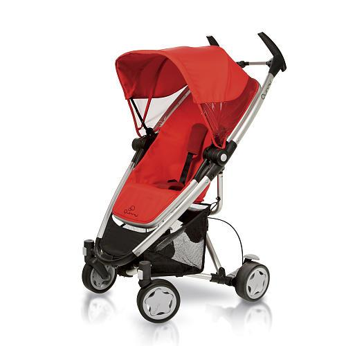 Quinny 2011 Zapp Xtra Stroller - Rebel Red