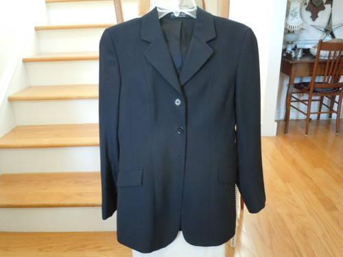 R J Classics Black Show Coat 4L