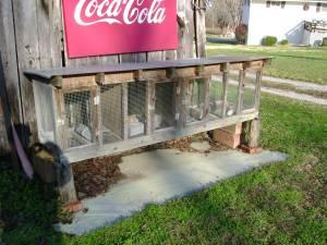 RABBIT CAGE - $125 (SODDY DAISY)