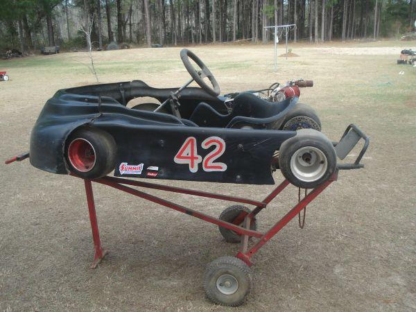 Racing go-cart - $550 (Blackshear)