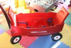 Radio Flyer 2 Person Wagon - $60 138th  Industrial Rd