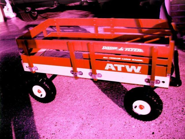 RADIO FLYER ALL TERRAIN WOOD CARGO WAGON