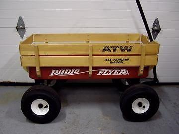 Radio Flyer  ATW  Red Wagon