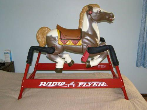 Radio Flyer Champion Spring Rocking Horse