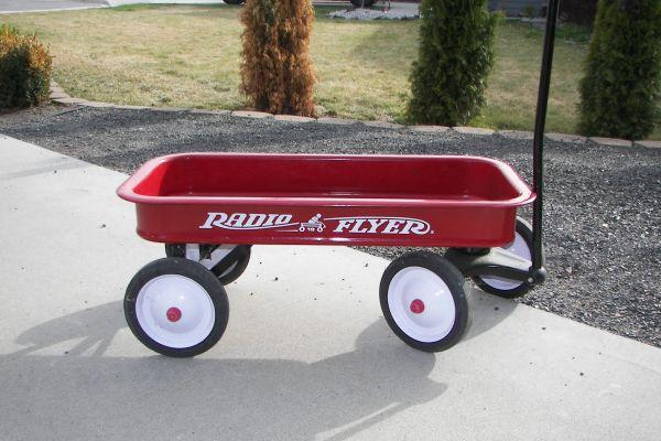 Radio Flyer Classic Red Wagon - $60 East Wenatchee