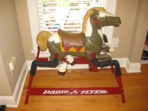 Radio Flyer Hobby Horse - $100 (Masonboro Sound Rd)