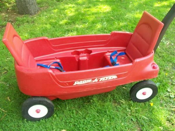 Radio Flyer Red Pathfinder Wagon -- GREAT for Summer Fun  Festivals - $45