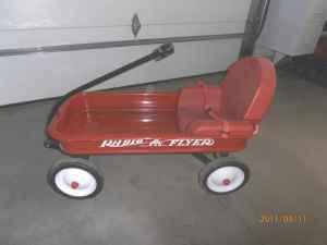Radio Flyer Red Wagon WSeat - $65 RWF