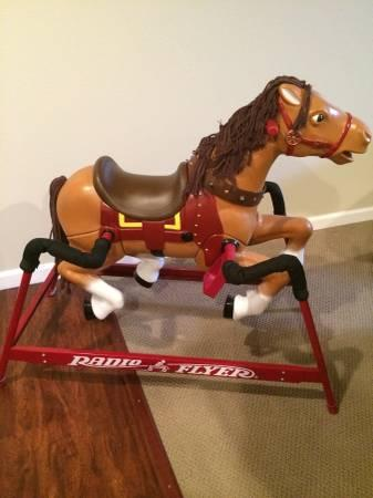 Radio Flyer Rocking Horse - $75