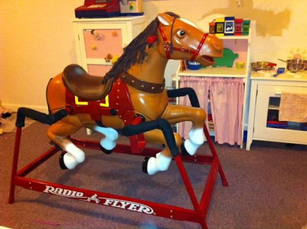 Radio Flyer Spring Rocking Horse - $70