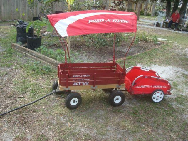 Radio Flyer Wagon - with Canopy & Radio Flyer Wagon - with Canopy for Sale in Saint Cloud Florida ...
