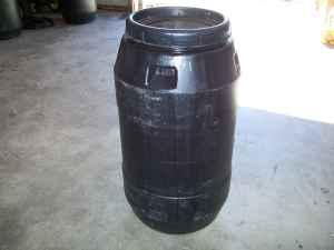 rain barrels & plain barrels (food grade) (charleston &