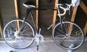 Raleigh 502 Chrome Molly Mens Bike !!!Just lowered