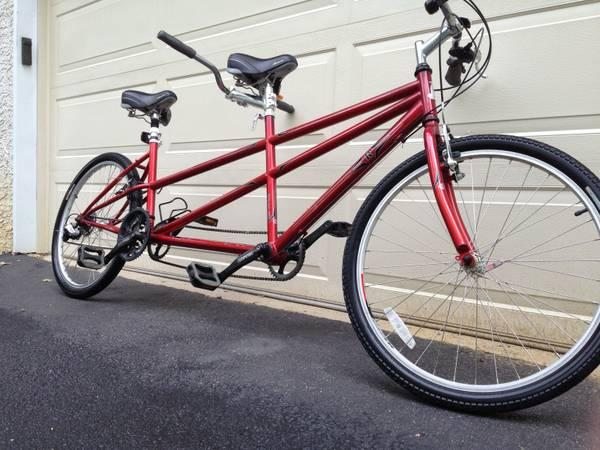 raleigh companion tandem bicycle - $385