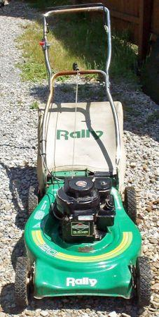 Rally 20 Inch 3 5 Hp Rear Bagger Mower Pittsburgh For