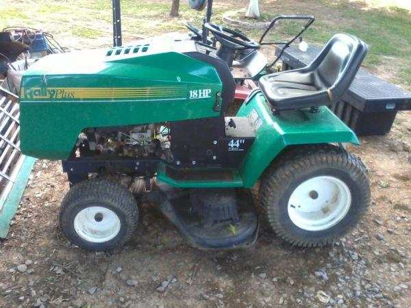 Rally 44 Inch Small Lawn Tractor Dalton Georgia For Sale