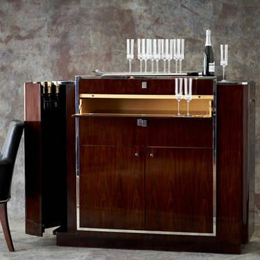 Ralph Lauren Duke Bar And Console Table Art Deco For